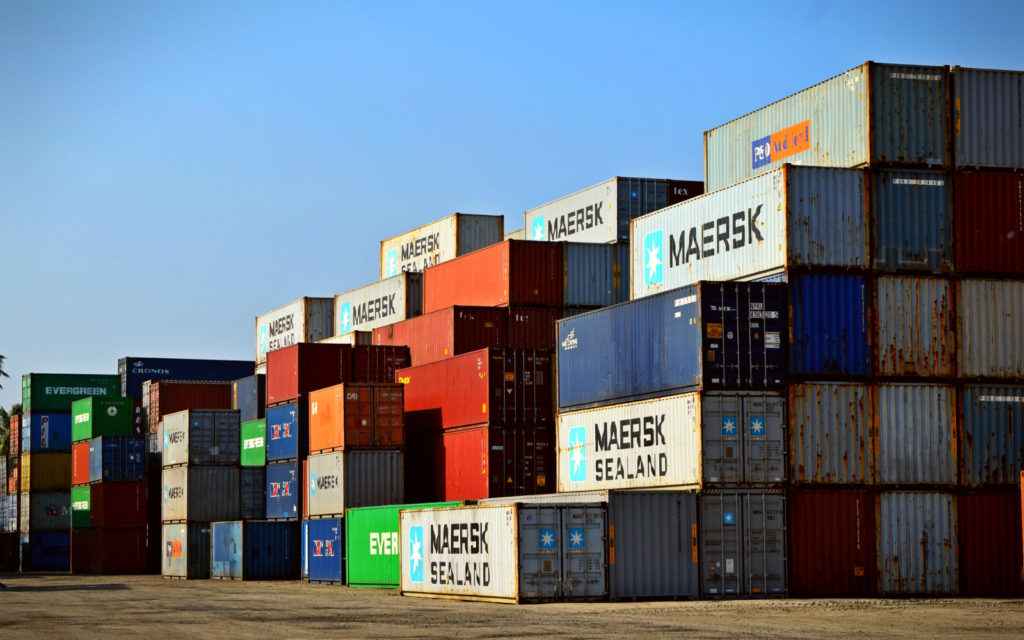 Incoterms FOB, CFR and CIF for containers are often used incorrectly. [Image by Chanka]