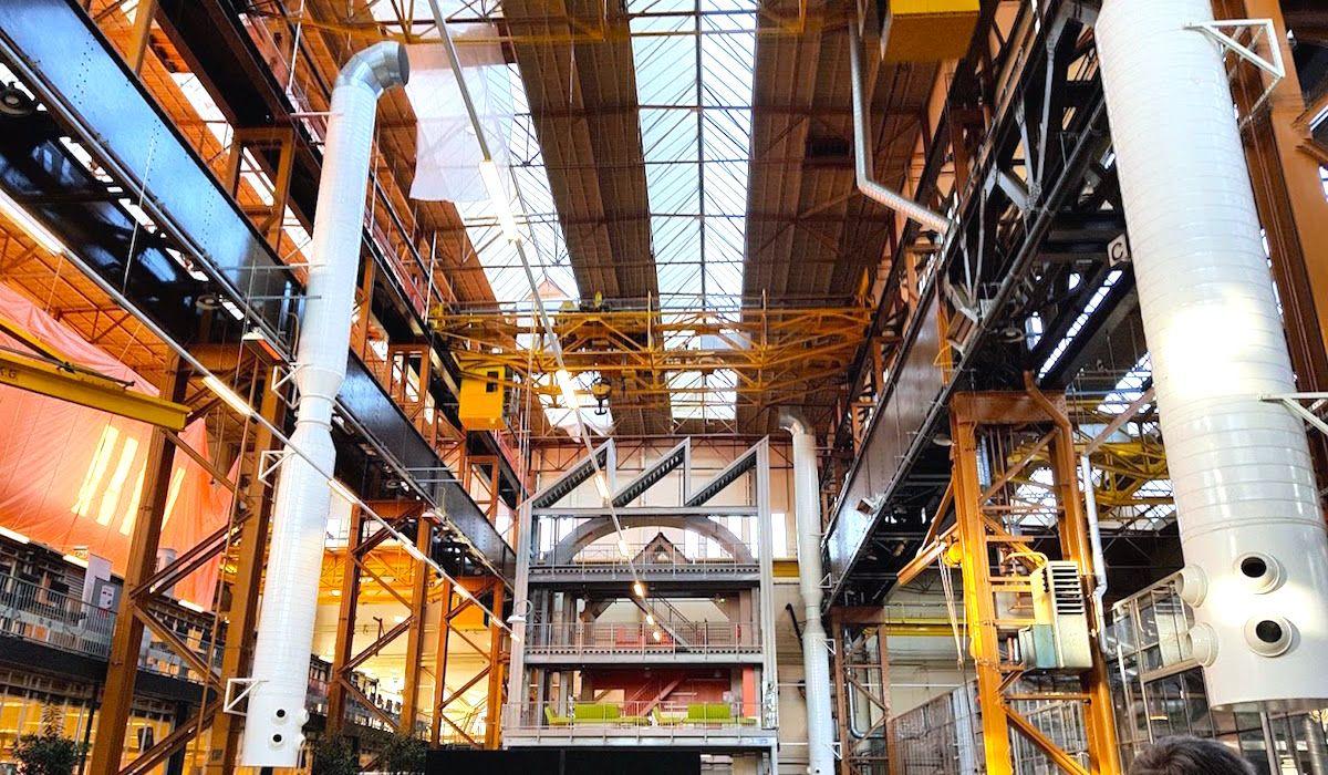 RDM Rotterdam es el punto de acceso para la innovación en el puerto, donde la industria manufacturera del futuro está tomando forma. [Imagen de Francesc Bonada]