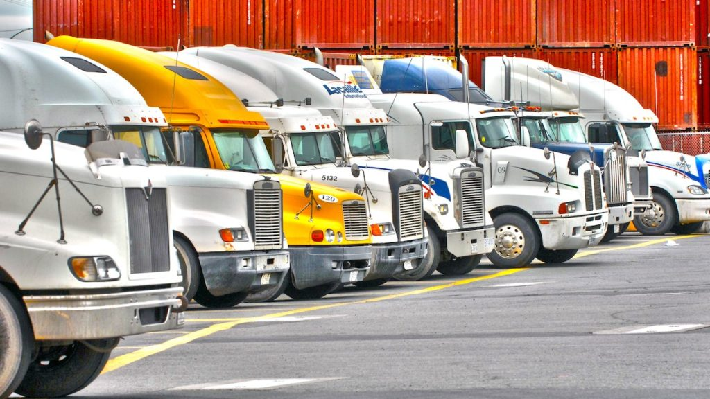 Trucking PORTal application by Port of Montreal uses predictive analytics from machine-learning to anticipate the possible traffic.