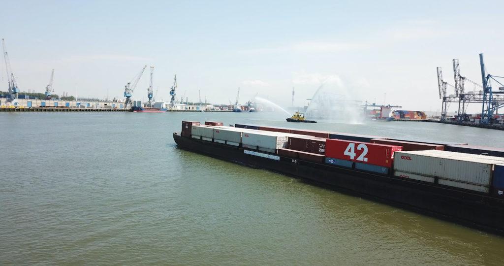 El Container 42 promet poder rastrejar la localització i l'estat del contenidor en tot moment. (Foto de We Are 42)