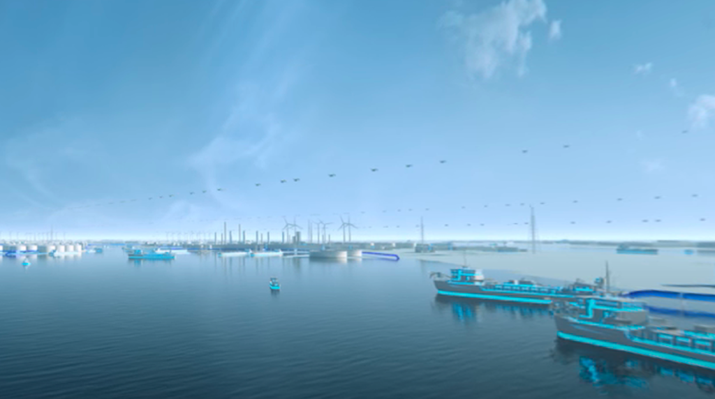 En el puerto de Amberes utilizan el sistema APICA que sobrepone una capa de realidad aumentada para que el usuario conozca todos los movimientos en la infraestructura (Imagen: Puerto de Amberes).