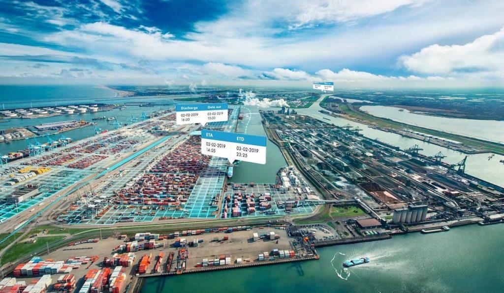 Boxinsider combina y contrasta datos de eventos de contenedores a partir de varias fuentes como buques, terminales y terminales interiores. (Imagen del puerto de Rotterdam)
