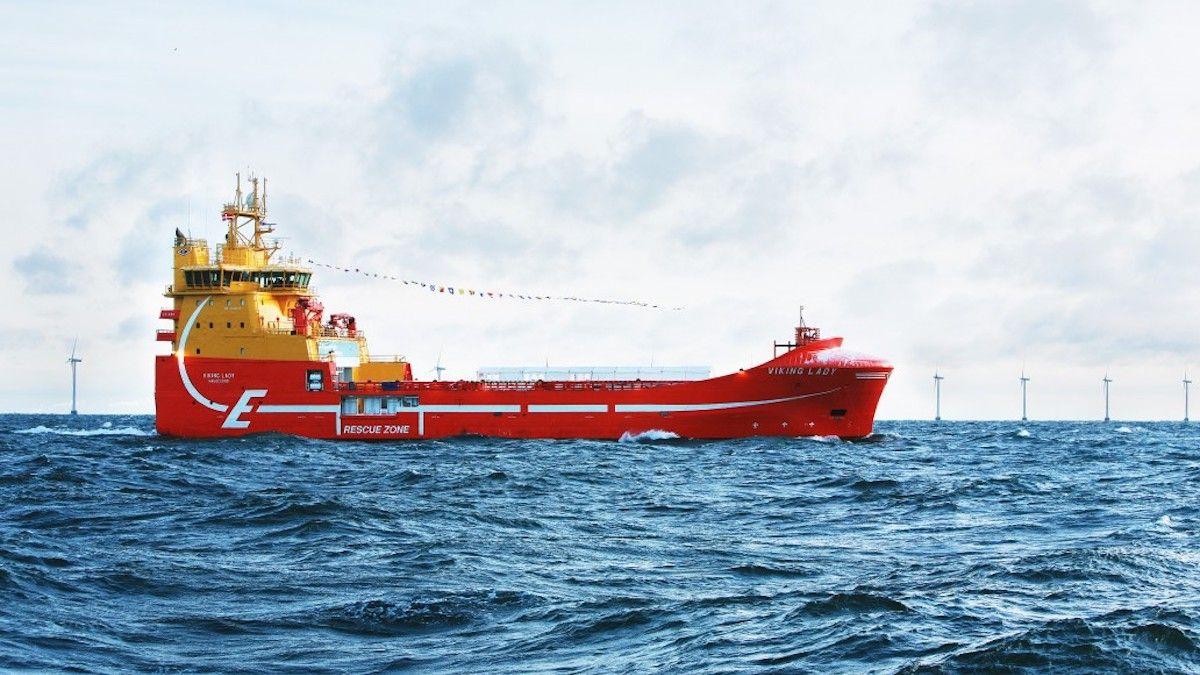 El Viking Line Ferry Mariella integró una pila de combustible en 2017 y la sigue usando a día de hoy. (Foto de maritimecleantech)