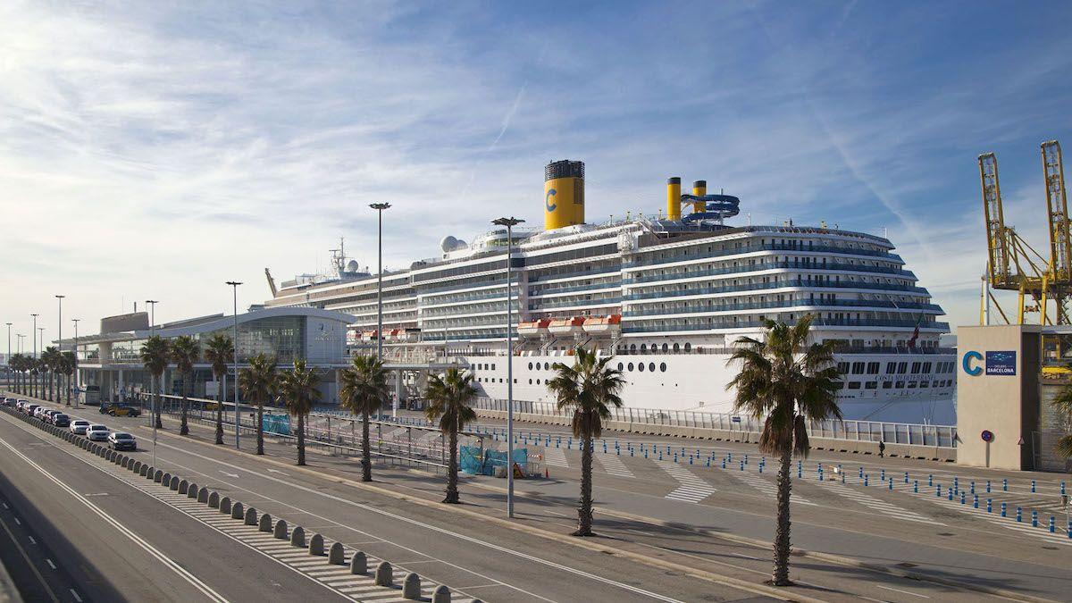 La construcción de un crucero oscila entre 350 millones de euros y 1300 millones de euros. (Port de Barcelona)