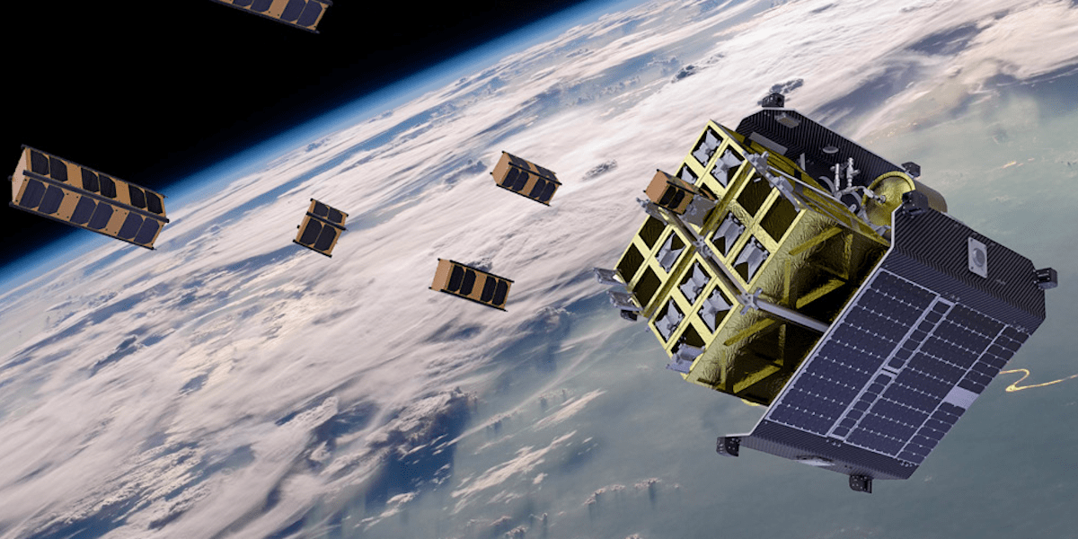 D-Orbit's ION Satellite Carrier can safely store, rapidly transport, and accurately deploy microsatellites reducing costs and extending satellite life. (DHL)