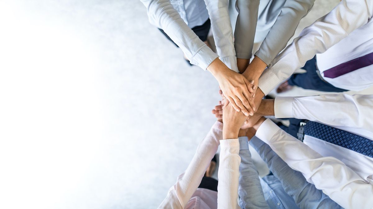 One of the social skills to consider is the capacity to work as part of a team. (Gettyimages)