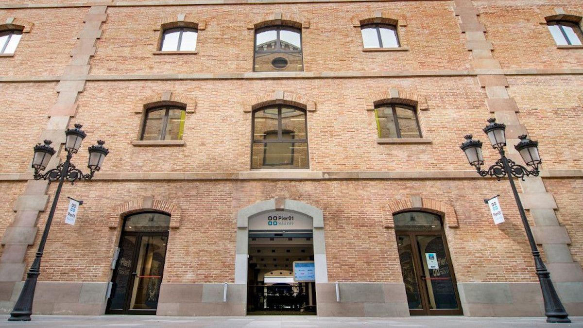 El Pier01 comparte espacio en el Palau del Mar con el Museo de Historia de Catalunya. (Barcelona Tech City)