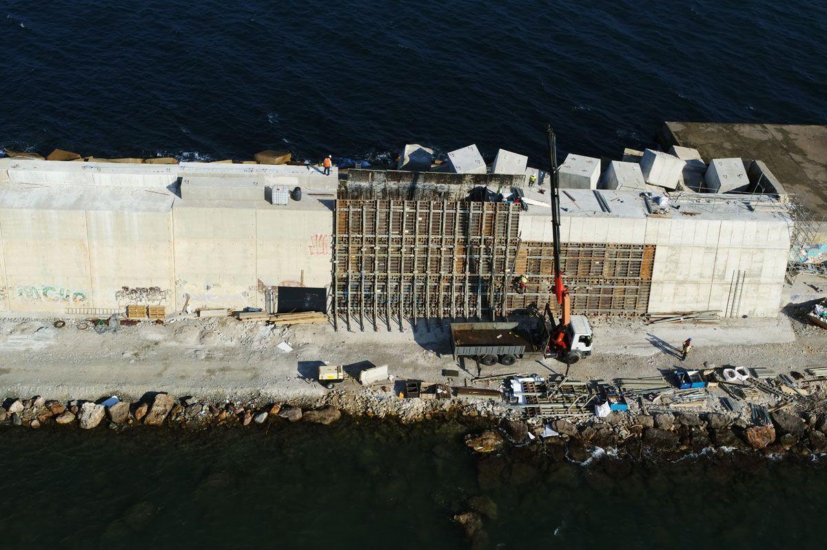 Los drones permiten a departamentos como el de infraestructuras prevenir y detectar situaciones de riesgo desde el aire. (Port de Barcelona)