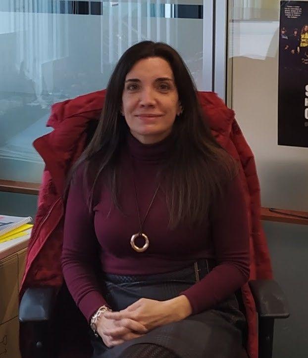 Rebeca Álvarez Mohedano, Jefa de Unidad de Desarrollo Profesional e Igualdad de Puertos del Estado.