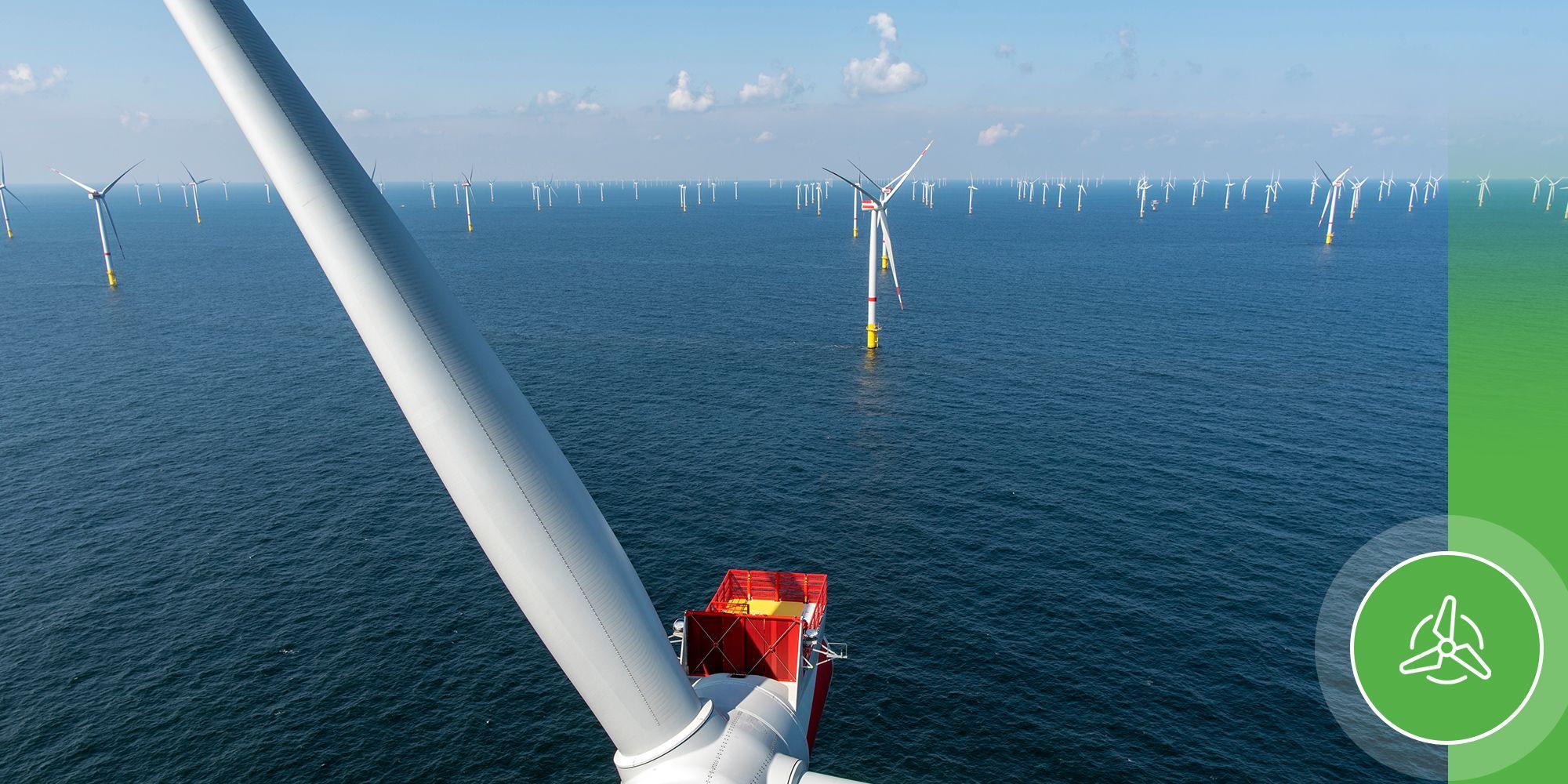 La producción por turbina eólica marina supera a aquellas instaladas en tierra. (GettyImages/PierNext)
