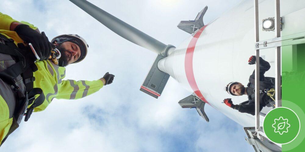 En 2020, Europa instaló 14.7 gigavatios (GW) de energía eólica, aunque solo el 20% fue offshore. (GettyImages/PierNext)