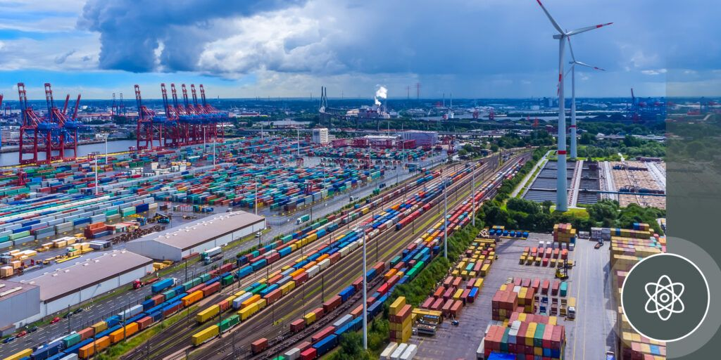 The Port of Hamburg has turned to quantum to end the bottle necks generated by its traffic lights. (PierNext /GettyImages)