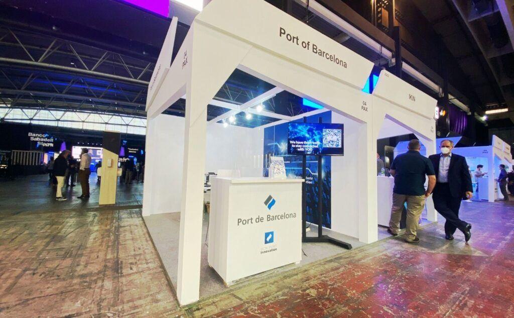 Las ferias tecnológicas son un excelente aparador para compartir experiencias multisectoriales. (Port de Barcelona)