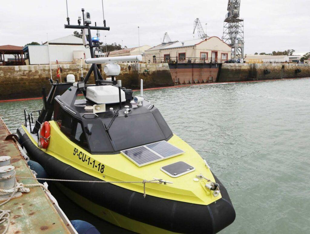 Un MASS es cualquier barco de superficie capaz de navegar gracias a programas de inteligencia artificial y sin necesidad de interacción humana. (Navantia)