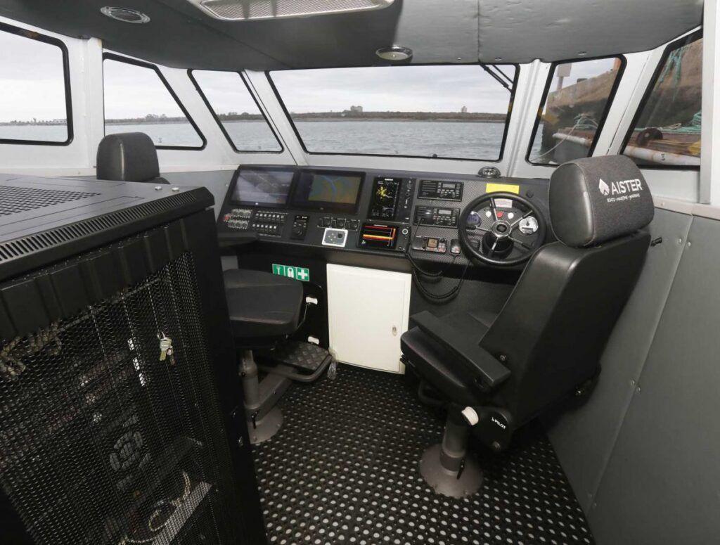 Los barcos totalmente autónomos tienen un sistema operativo capaz de tomar sus propias decisiones en todo momento. (Navantia)